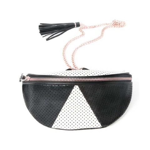 mata hari x Love+Made Collaboration: Waist Bag black/white
