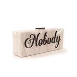 CINDIDDY for mata hari: Noble / Nobody Clutch