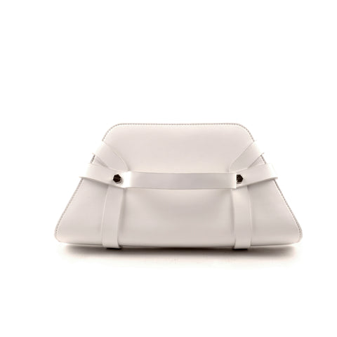 Dita for mata hari: Dita Trapeze Clutch white