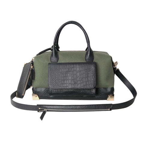 CINDIDDY Traveler Carryall Bag military green