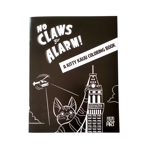 No Claws For Alarm Coloring Book