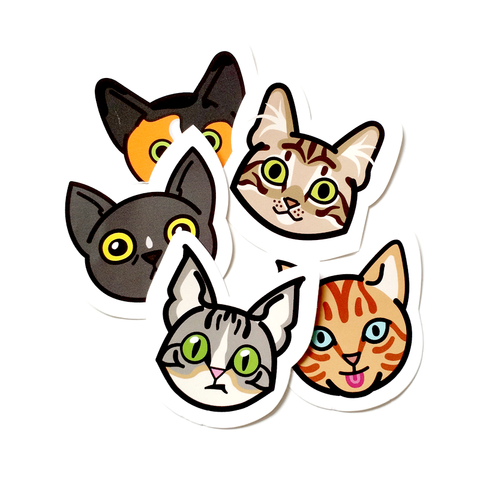 Pet Portrait Stickers
