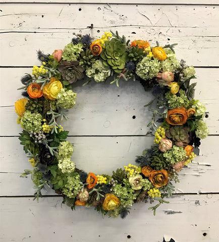 Seasonal Outdoor Wreath