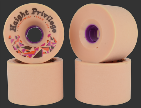75mm Entitlement Urethane Haight Privilege Wheels