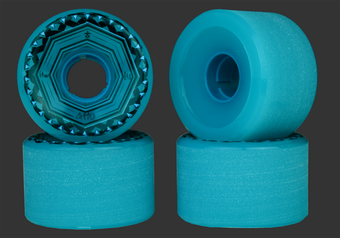 64mm 84a AHMYO Vibez Freeride Wheels
