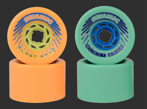 78mm Seismic Blast Wave Wheels