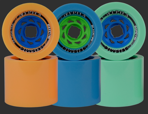 75.5mm Seismic Alpha Wheels