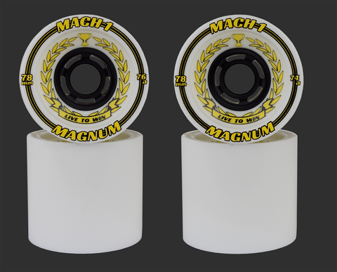 78mm Venom Magnum Mach 1 Cannibal Wheels