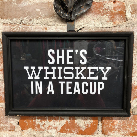 Whiskey Sign