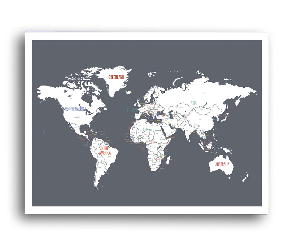 World map in dark grey kindred sol collective world map in dark grey gumiabroncs Images
