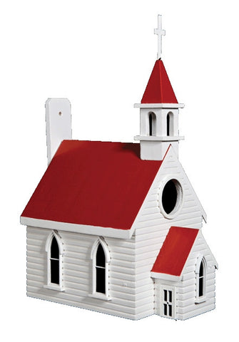 Country Church Birdhouse - Small