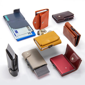 Single Wallet/Cardholder with RFID protection