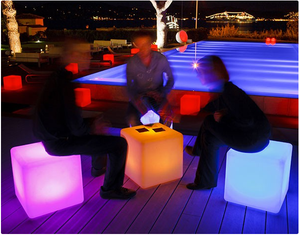 easy days LED Cube Seat/Table