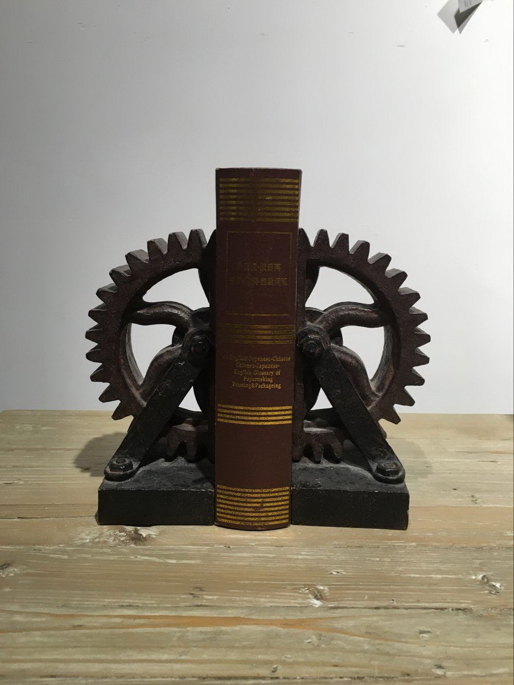 The Gear Bookends