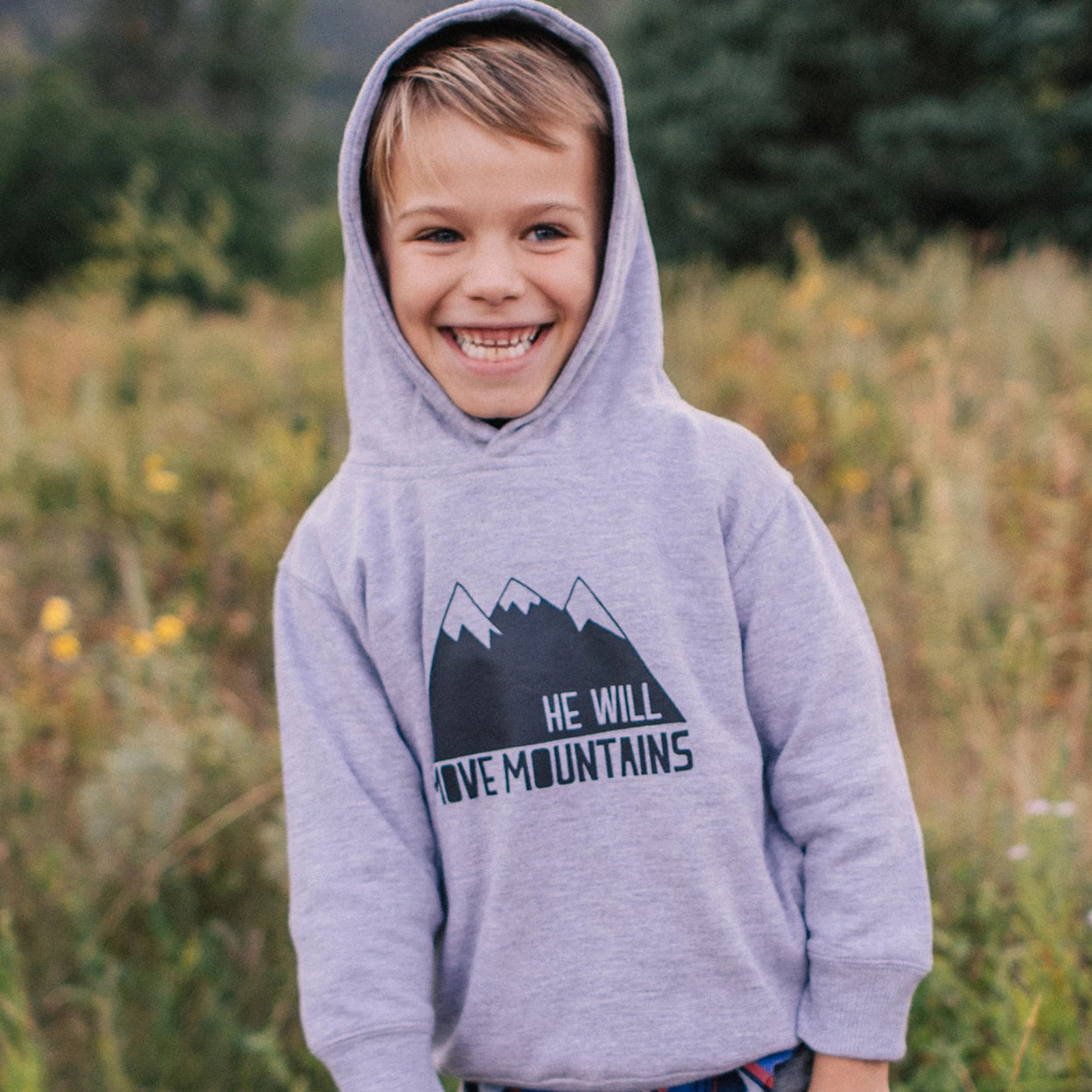 He Will Move Mountains Hoodie