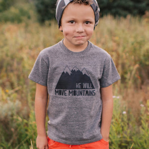 He Will Move Mountains Tee/Onesie
