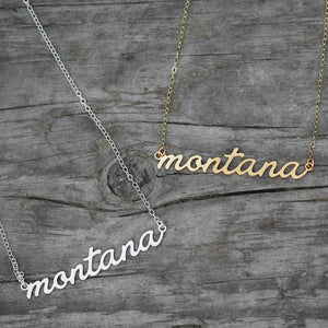 State Script Necklaces