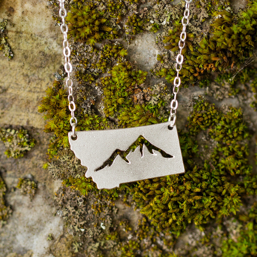 Mountains of Montana Necklace