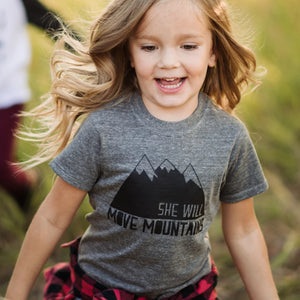She Will Move Mountains Tee/Onesie