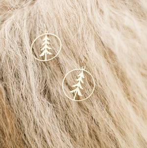 Lone Pine Earrings