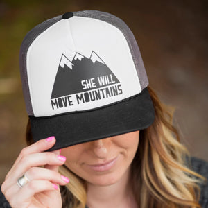 She Will Trucker Hat