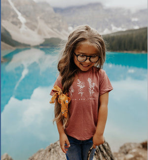 Wild and Free toddler tee