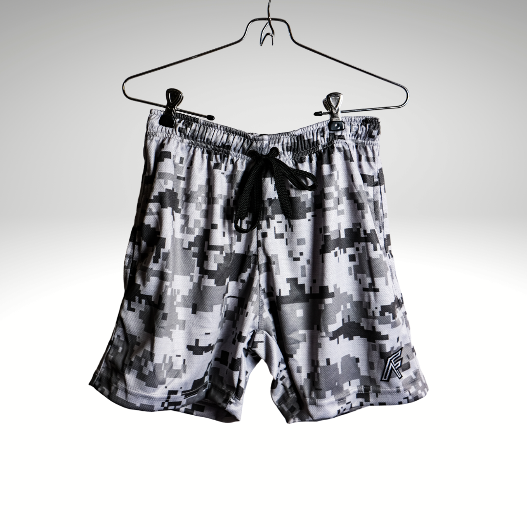 Digital Camo Basketball Shorts