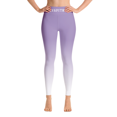 Purple Rain High Waisted Leggings