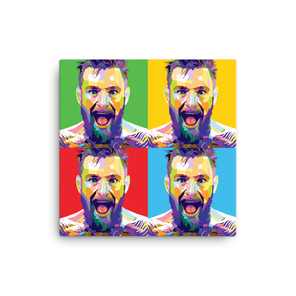 Mcgregor Pop Art Canvas