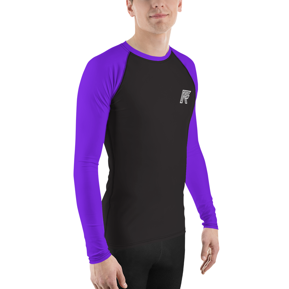Purple Ranked Rashguard