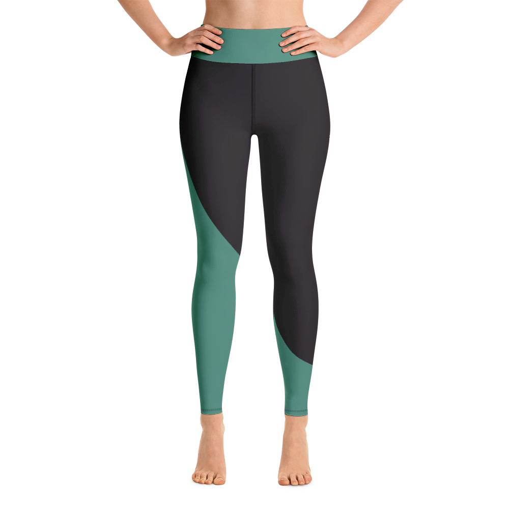Emerald Sculpted High Waisted Leggings