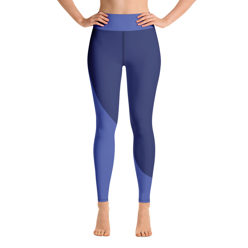 Indigo Sculpted High Waisted Leggings