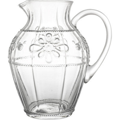 Juliska Colette Clear Pitcher