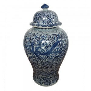 Assorted Blue & White Ginger Jars