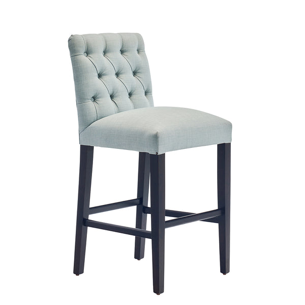 Buttoned Bar/Counter Stool