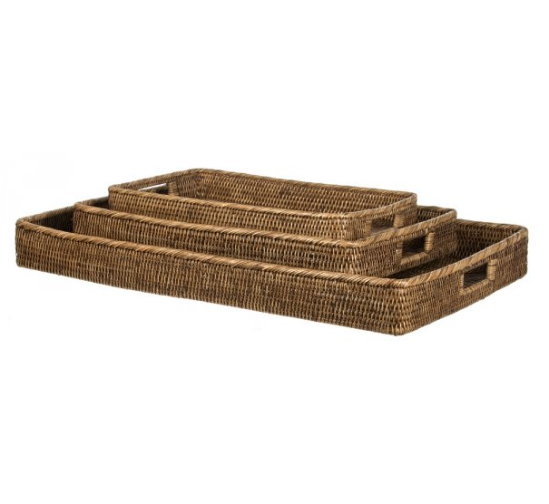 Assorted Rattan Trays