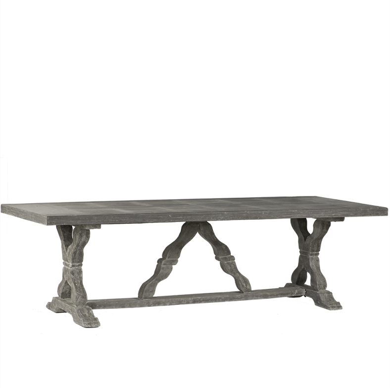 Fibreglass Rectangular Dining Table
