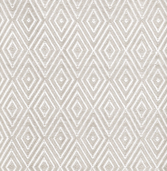 Dash & Albert Diamond Platinum/White Indoor/Outdoor Rug