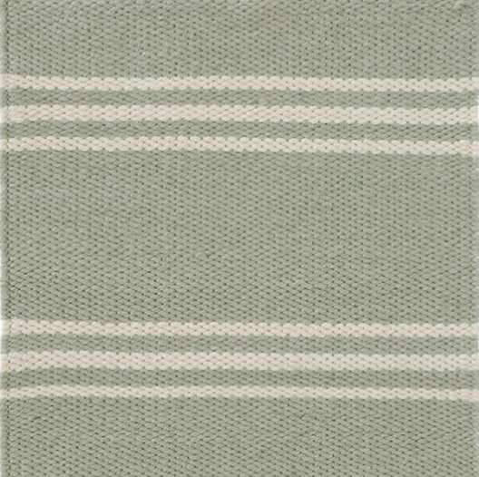 Dash & Albert Lexington Ocean/Ivory Indoor/Outdoor Rug