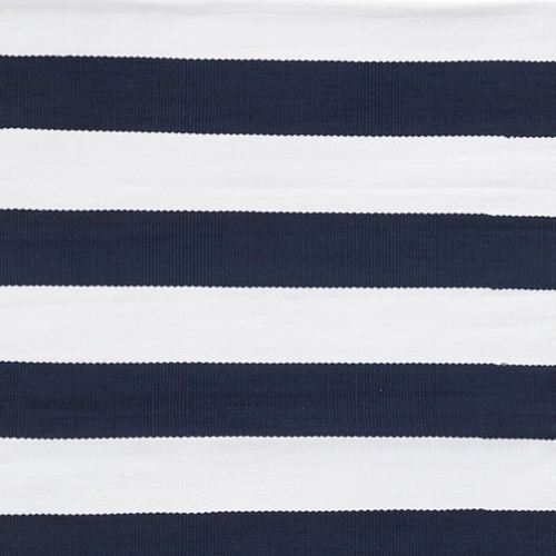 Dash & Albert Indoor/Outdoor Navy Catamaran Stripe Rug