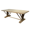 Silver Teak Outdoor Dining Table