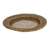 Rattan tray set 3 - brown