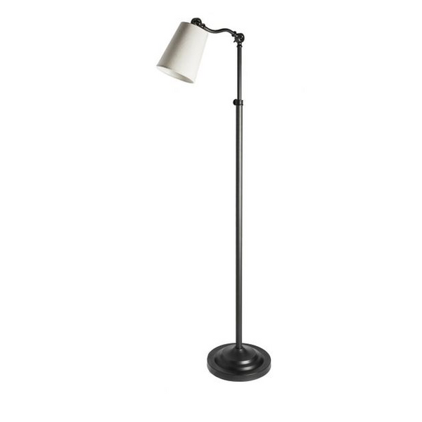 Gooseneck Floor Lamp Bronze