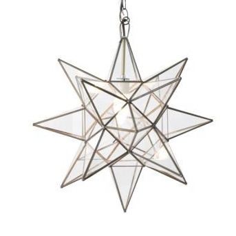 Large Star Chandelier