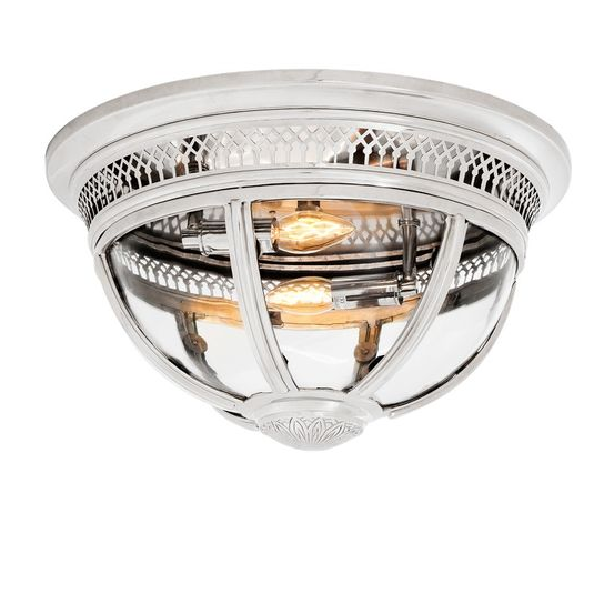 Residential Nickel Ceiling Lamp