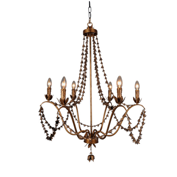 Rose Bud Chandelier