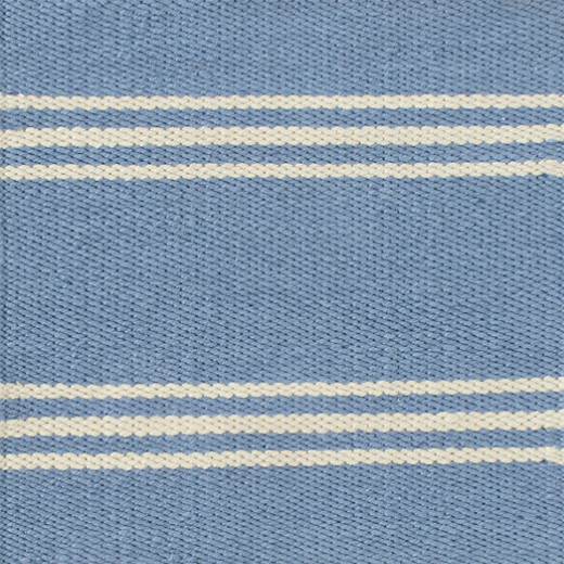 Dash & Albert Lexington French Blue/Ivory Indoor/Outdoor Rug