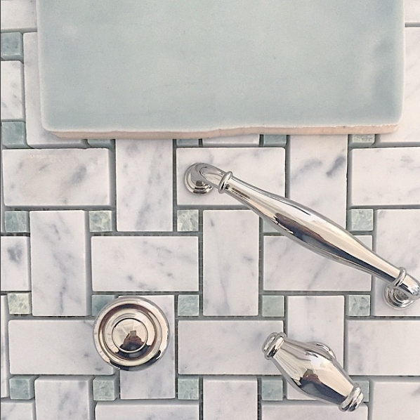 Spanish Subway Tile - Grey Green