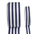 Pavilion Ribbon - Navy/White