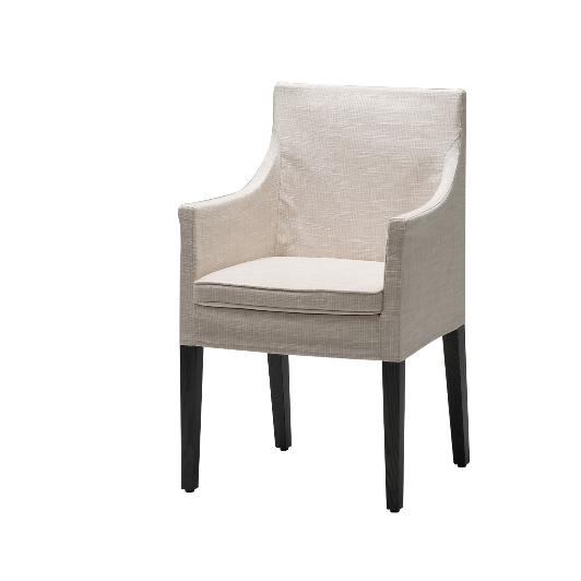 Linen Slip Cover Dining Chair